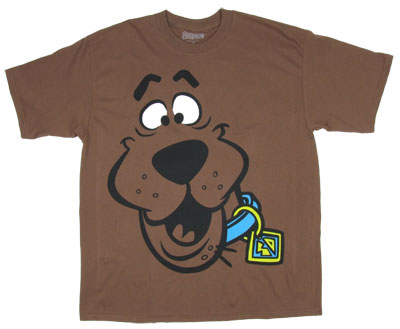 Scooby Face - Scooby Doo T-shirt