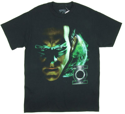 Shadow Portrait - Green Lantern Movie T-shirt