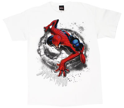 Scaling The Wall - Marvel Comics T-shirt