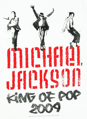 King Of Pop 2009 - Michael Jackson Sheer Women's T-shirt