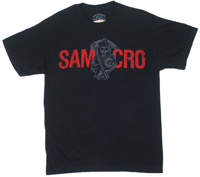 Flame Logo - Sons Of Anarchy T-shirt