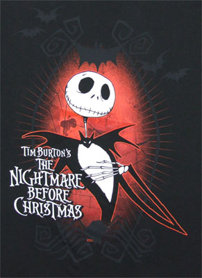 Dark Love - Nightmare Before Christmas Sheer T-shirt