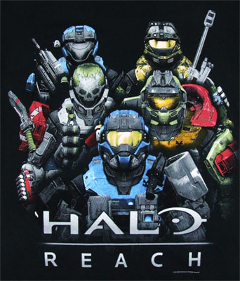 The Spartans - Halo Reach T-shirt