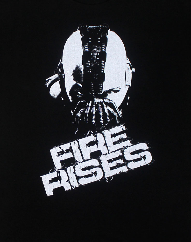 Fire Rises - Dark Knight Rises T-shirt
