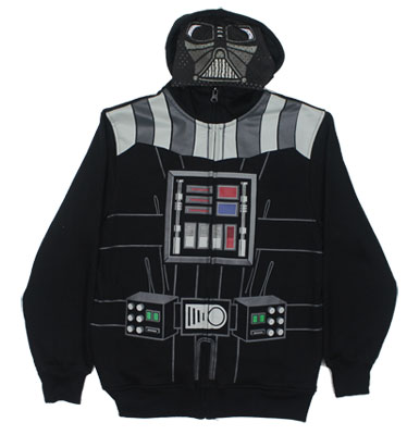 Darth Vader Costume - Star Wars Youth Hooded Sweatshirt
