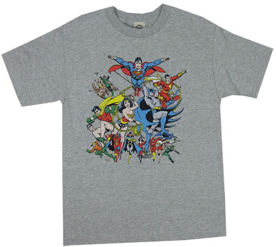 Justice League Assemble - DC Comics T-shirt