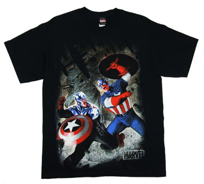 Captain America Vs Captain America - Marvel Comics T-shirt