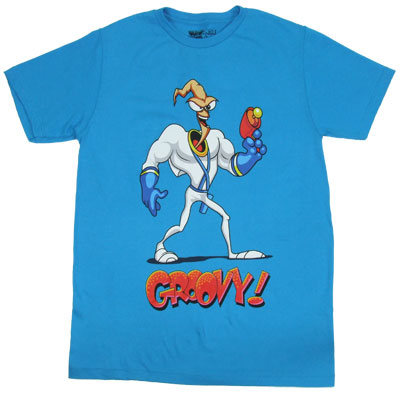 Groovy! - Earthworm Jim T-shirt