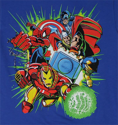 Go Team - Marvel Comics Juvenile T-shirt