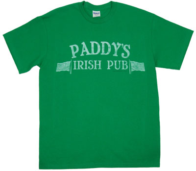Paddy&#039;s Irish Pub (Faded) - It&#039;s Always Sunny In Philadelphia T-shirt