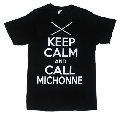 Keep Calm And Call Michonne - Walking Dead Sheer T-shirt