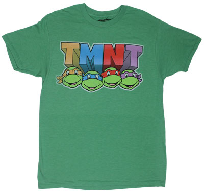 Turtle Faces - Teenage Mutant Ninja Turtles T-shirt