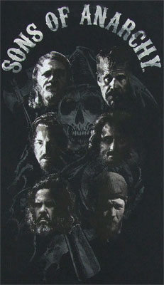 Cast And Reaper - Sons Of Anarchy T-shirt