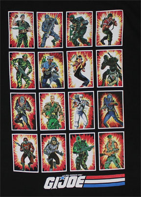 Full Deck - G.I. Joe Sheer T-shirt