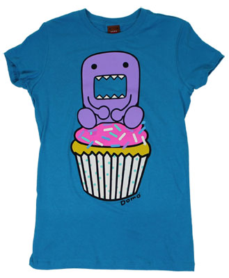 Domo Cupcake - Domo-Kun Sheer Women&#039;s T-shirt
