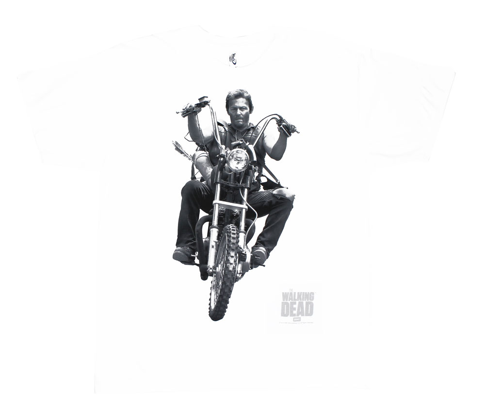 Daryl Bike - Walking Dead T-shirt