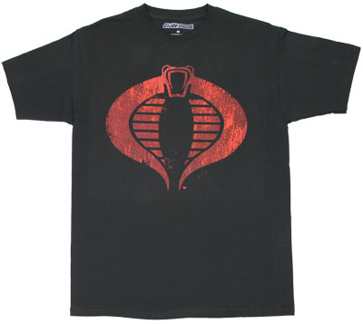 Cobra Logo - G.I. Joe Sheer T-shirt