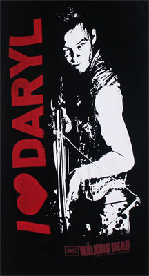 I Heart Daryl - Walking Dead Juniors Tank Top