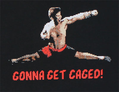 Gonna Get Caged! - Mortal Kombat T-shirt