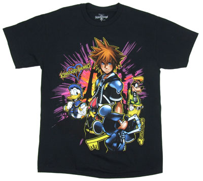Bright Lights - Kingdom Hearts T-shirt