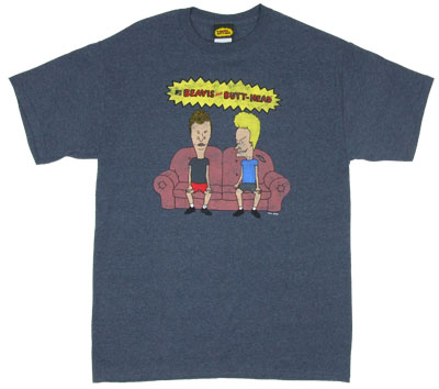 On The Couch - Beavis And Butthead T-shirt