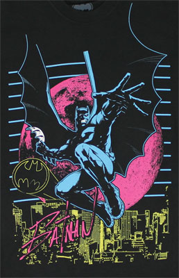 Neon City - DC Comics T-shirt
