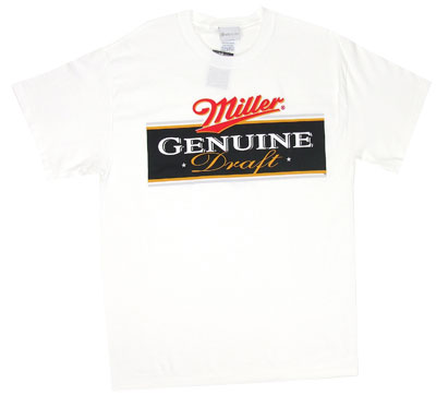 Miller Genuine Draft T-shirt