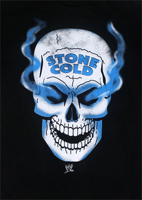 Stone Cold Skull - WWE T-shirt
