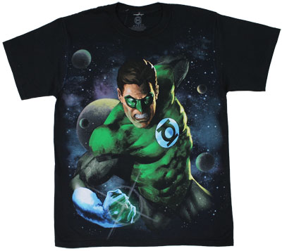 Way Out There - Green Lantern - DC Comics T-shirt