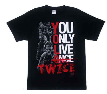 YOLO Twice - Walking Dead T-shirt