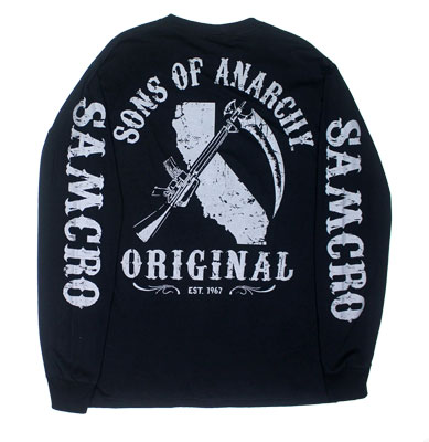 California Original - Sons Of Anarchy Long Sleeve T-shirt