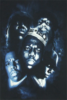 Big Faces - Notorious B.I.G. T-shirt