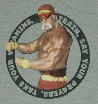 Take Your Vitamins - Hulk Hogan Sheer T-shirt