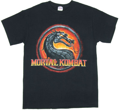 Mortal Kombat IX Logo - Mortal Kombal T-shirt