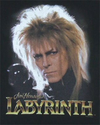 Jareth - David Bowie - Labyrinth Sheer Women's T-shirt