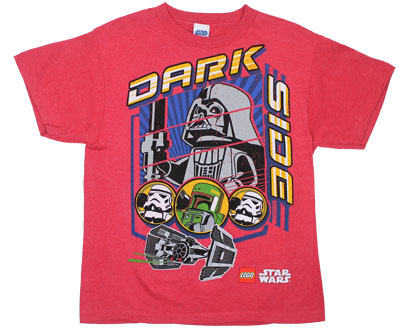 Dark Side - LEGO Star Wars Youth T-shirt