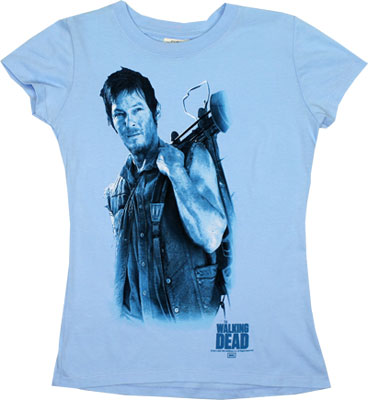 Daryl And His Bow - Walking Dead Sheer Women&#039;s T-shirt
