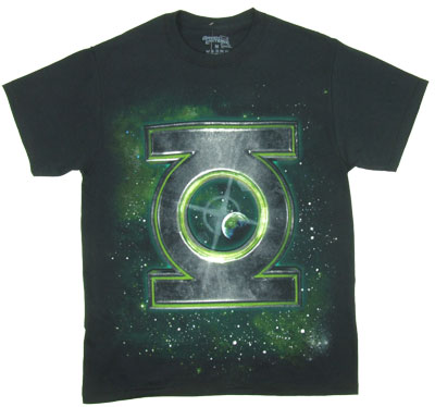 Logo In Space - The Green Lantern T-shirt