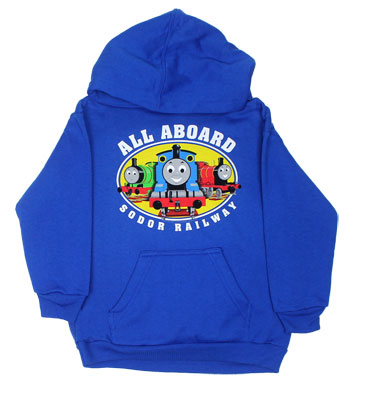 All Aboard Sodor Railway - Thomas The Tank Engine Juvenile And Toddler Hooded Sweatshirt