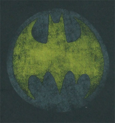 Faded Batman Logo - DC Comics T-shirt