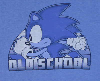 Old School - Sonic The Hedgehog T-shirt
