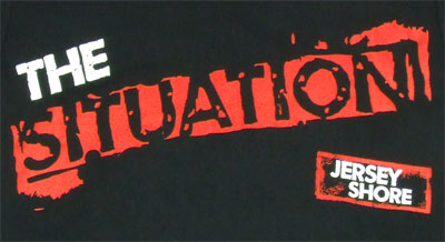 The Situation - Jersey Shore T-shirt
