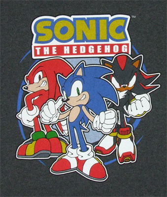 Sonic Posse - Sonic The Hedgehog Boys T-shirt