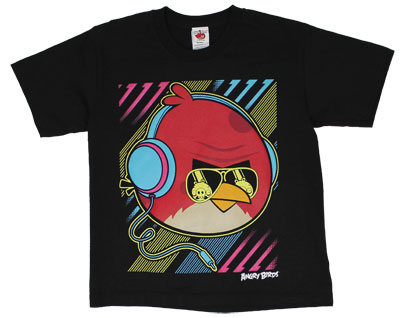 Big Neon Bird - Angry Birds Youth T-shirt