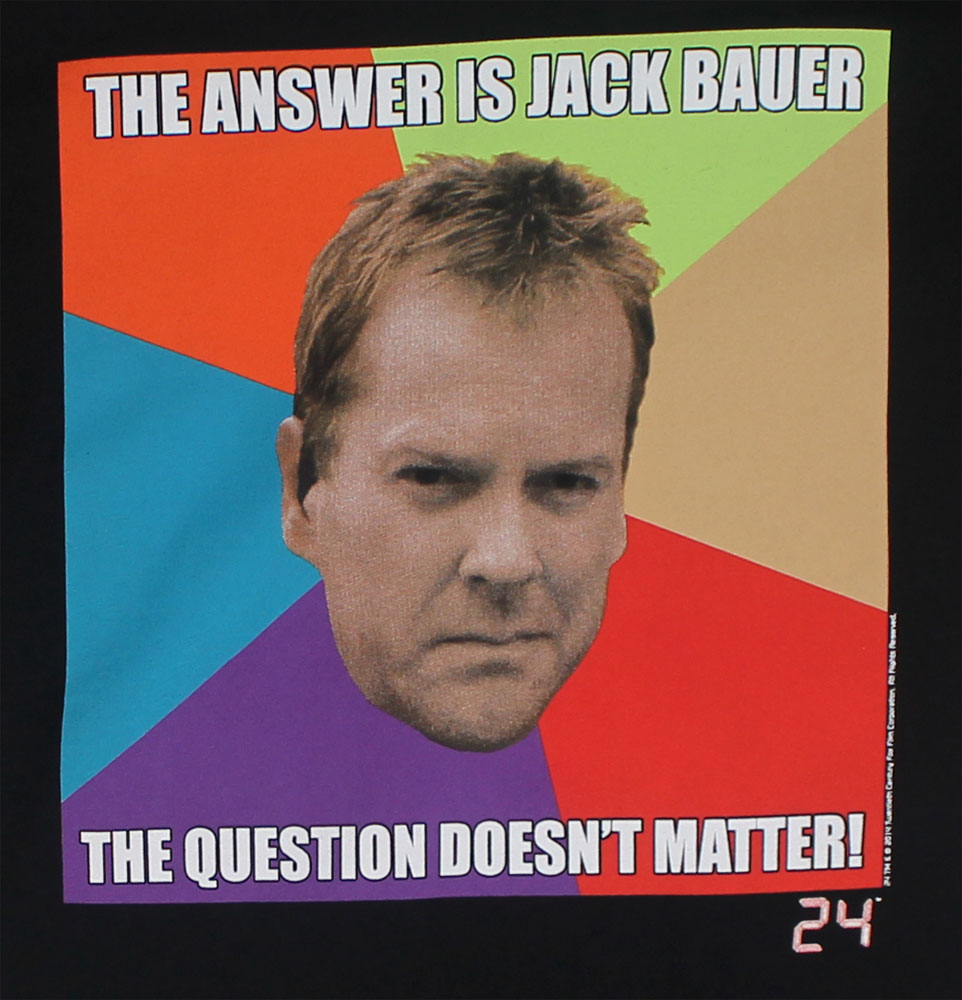 The Answer Is Jack Bauer - 24 T-shirt