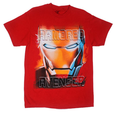 Armored Avenger - Iron Man - Marvel Comics T-shirt