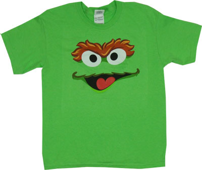 Oscar Face - Sesame Street Youth T-shirt
