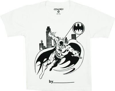 Batman Color My Tee T-shirt