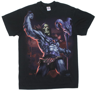 Skeletor Victory Pose - He-Man T-shirt