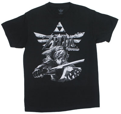 Legend Of Zelda Skyward Sword - Nintendo T-shirt